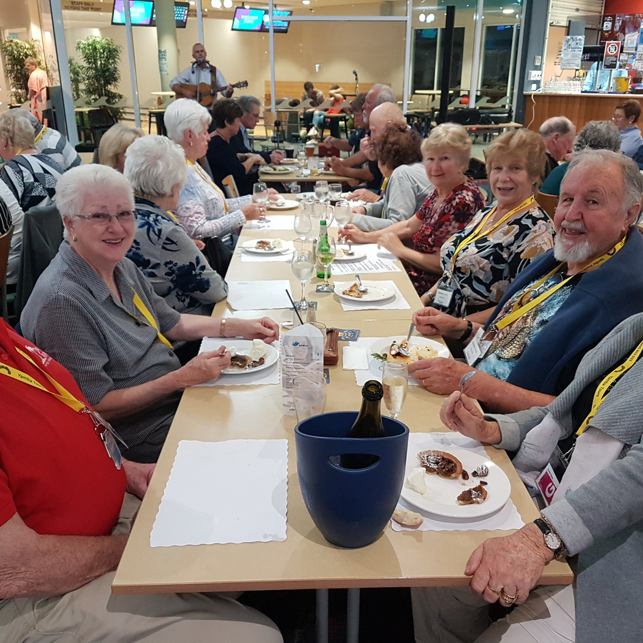 National-seniors-Redcliffe-Dinner at the