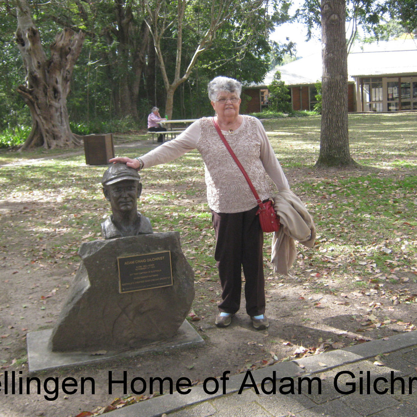National Seniors-Redcliffe- Home of Adam Gilchrist
