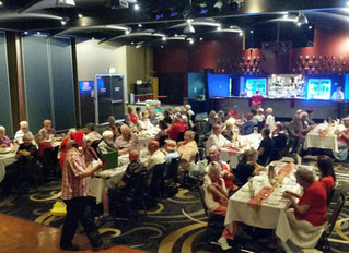 Christmas Lunch at Redcliffe RSL on Friday 16 December 2016