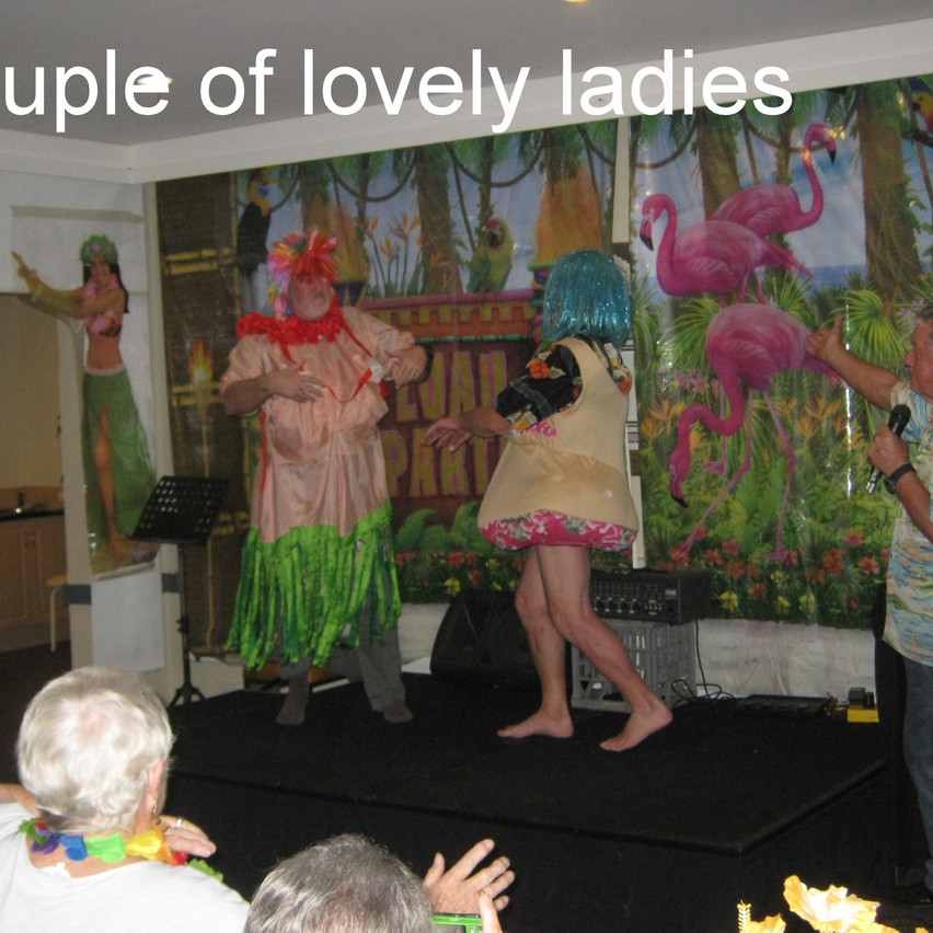 National-Seniors-Redcliffe-Couple lovely ladies