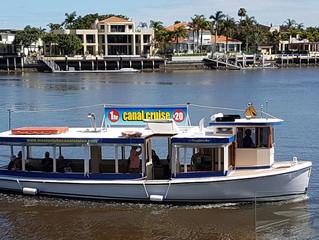 Mooloolaba Canal Cruise bus trip