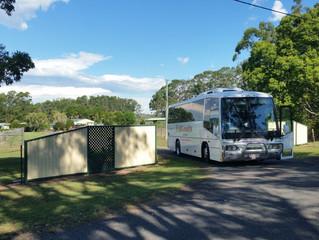 Bus trip to Woongooroo Estate Kilcoy