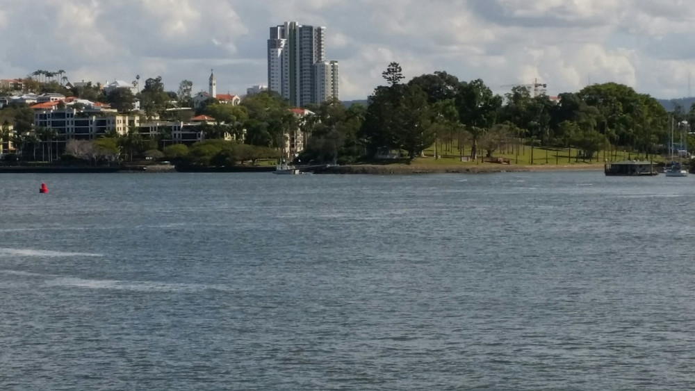 View back to Newstead Park