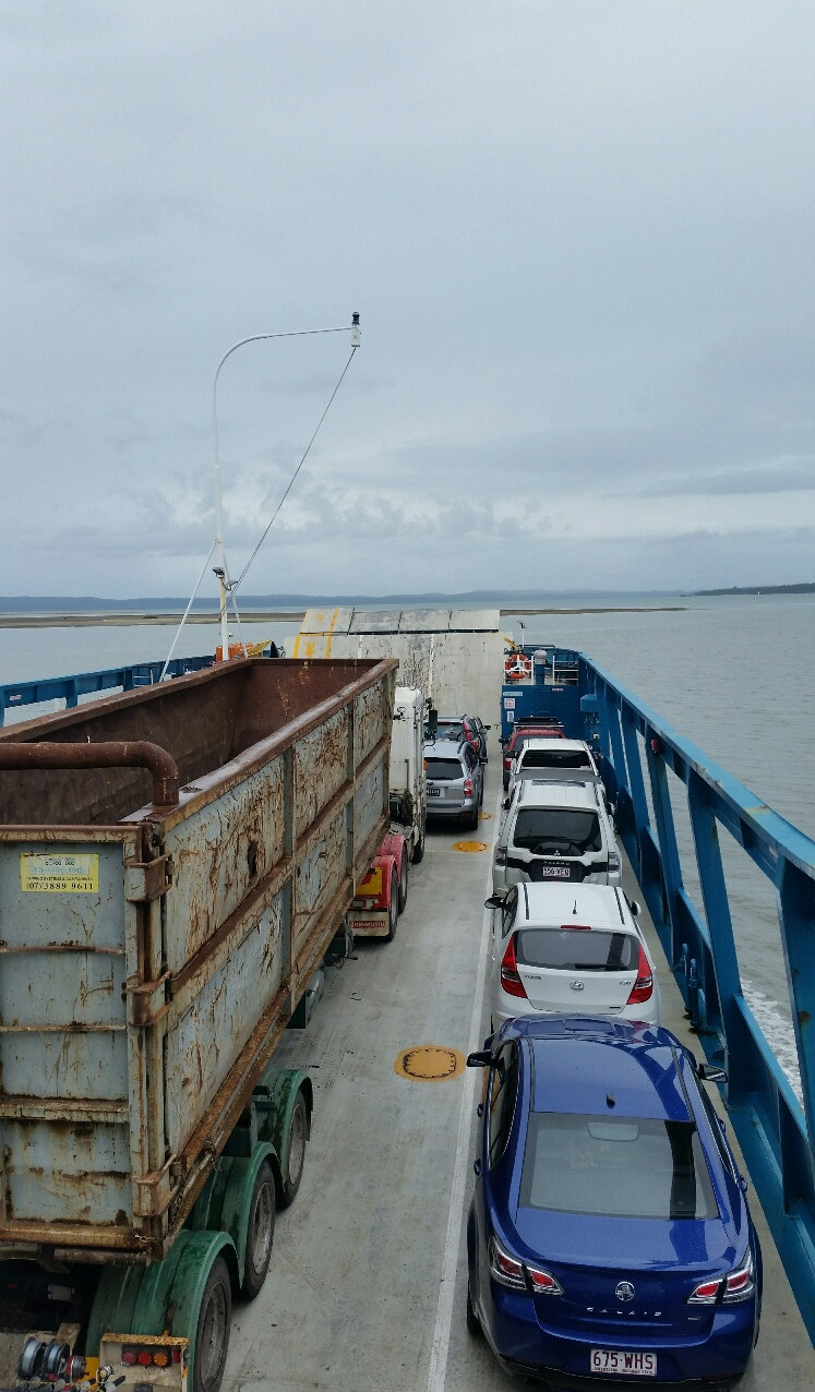 National-Seniors-Redcliffe-All packed on the ferry