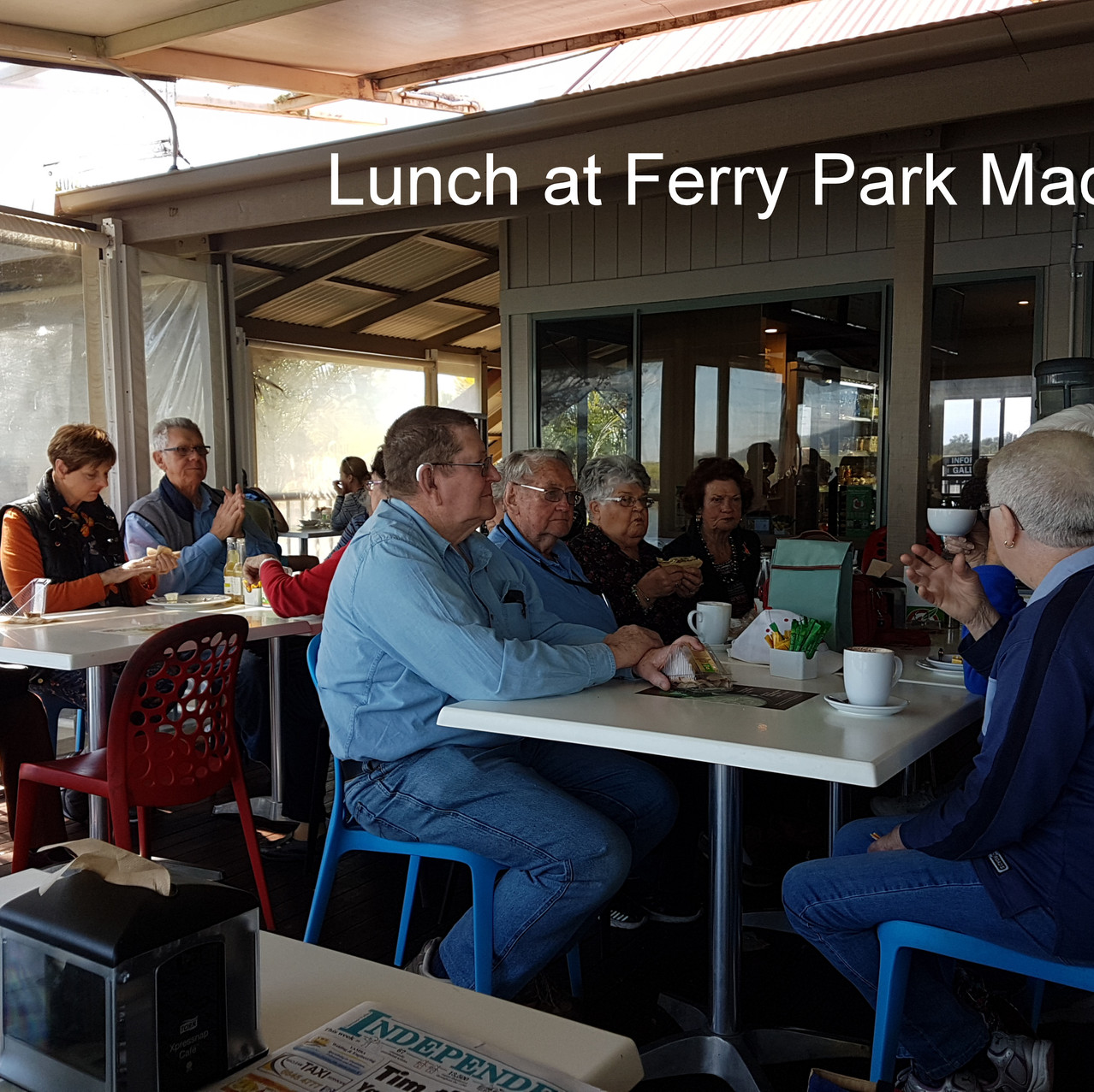 National-Seniors-Redcliffe- Lunch