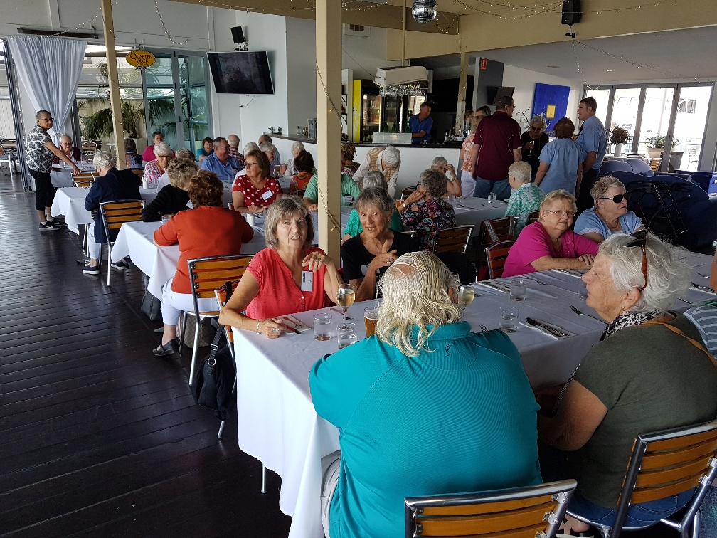 National-Seniors-Redcliffe-Lunch at Rive
