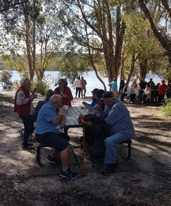 National-Seniors-Redcliffe-Enjoying MT a