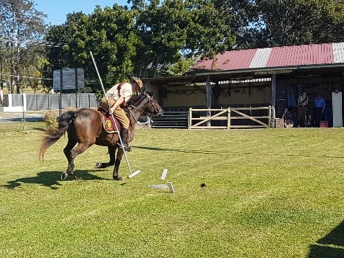 National-Seniors-Redcliffe-Tent Pegging