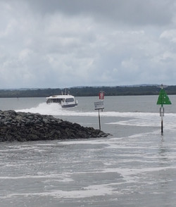 National-Seniors-Redcliffe-Ferry Leaving