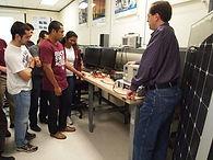 Robert Balog, TAMU, and REU students