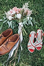 Souliers pour les mariés