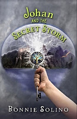 Johan And The Secret Storm a mystery /adventure set on an invisible island, north of Norway. The rain is constant. Will it ever end? What will happen to the trolls and the pterodactyls?.