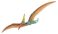 "A Pterodactyl flies every morning over Johan's house in ""Johan And The Secret Caves"""