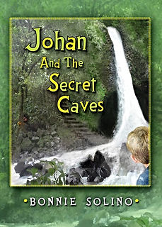 Fantasy, Invisible Island,Pterodactyls,Mystery, Adventure Middle School age, Novel, Johan and the Secret Caves, an invisible island,multi-generational,