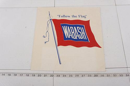 Wabash Railroad Sign