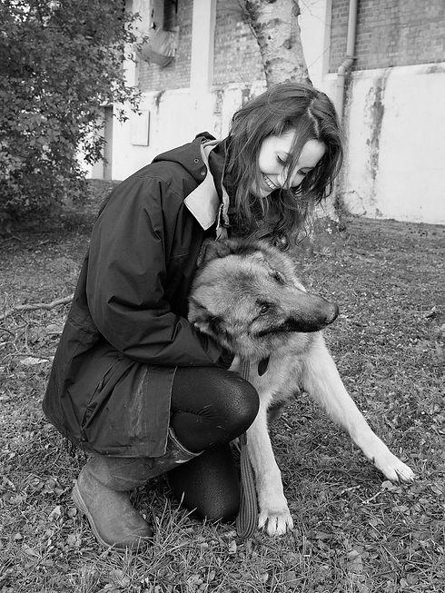 Halton dog and me.jpg