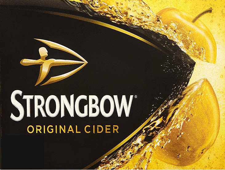 Strongbow Multipack Edible Image cake topper Quality icing sheet