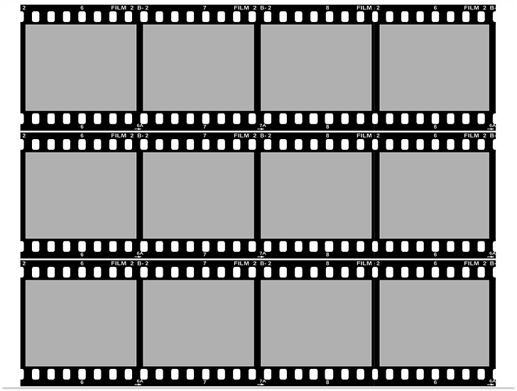 Edible Film Strip YOUR IMAGES here cake boarder Quality icing sheet
