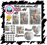 edible photo cake toppers, edible photo cupcake toppers, edible image priniting, edible cake topper