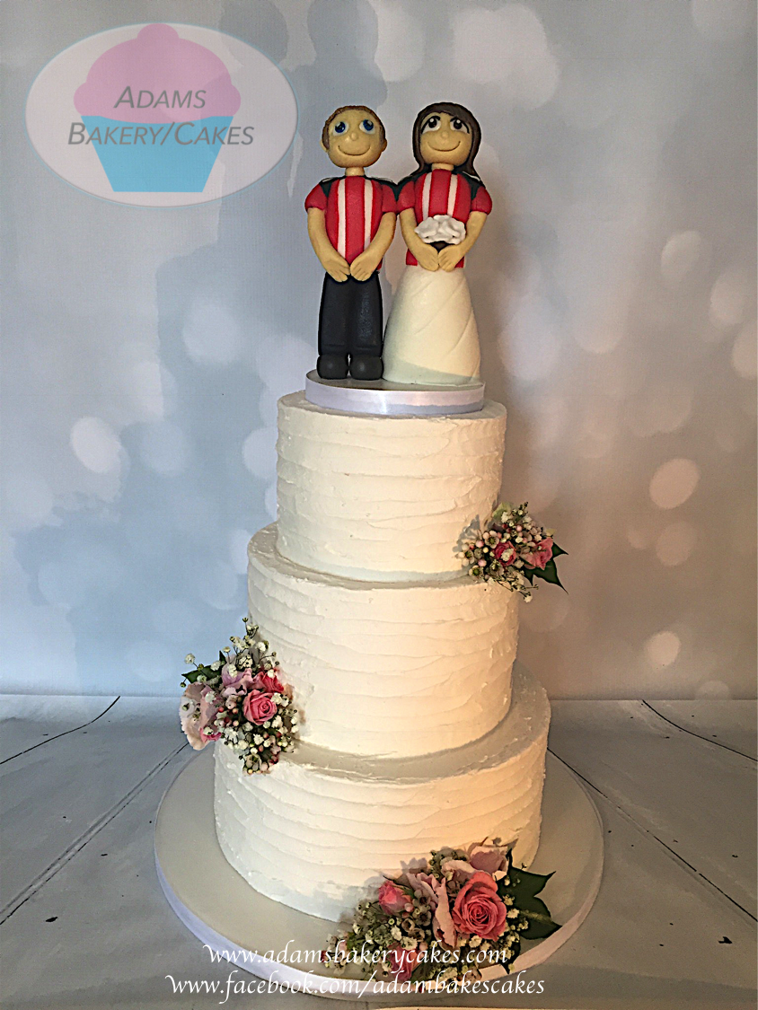 buttercream wedding cake 11