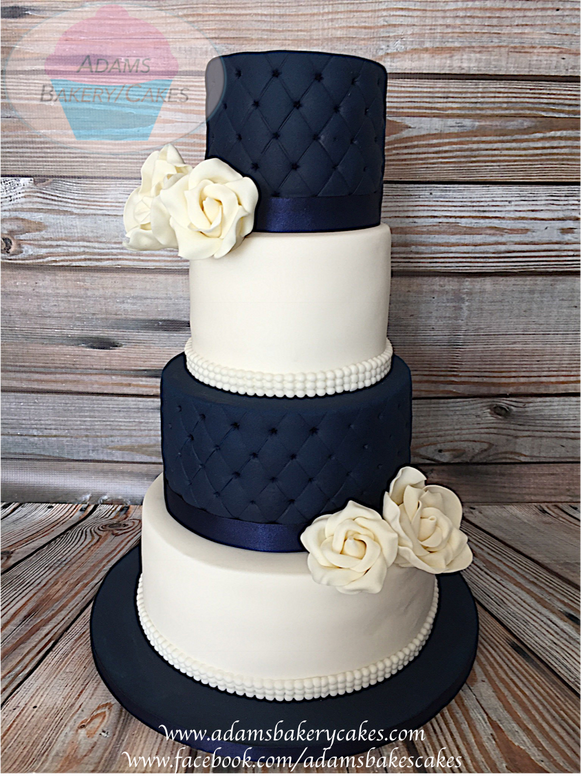 navy blue wedding cakes navy blue wedding cake www pixshark images 17778