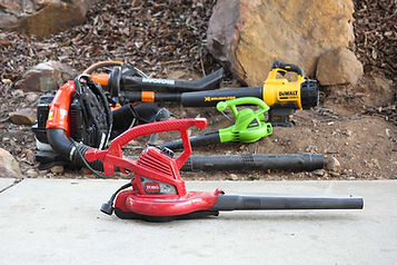 Electric Leaf Blowers are quieter and pollute less