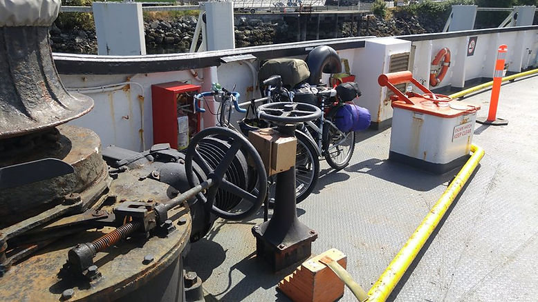 2017-06-02 - Swartz Bay to Sturdies Bay