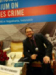 Teale Phelps Bondaroff speaking at Fish Crime Symposium