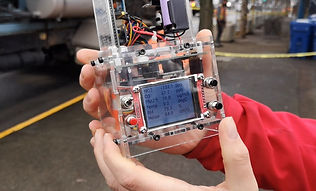Urban noise pollution measuring device