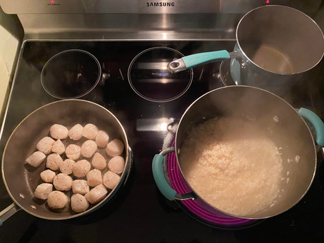 Easy Scallops & Risotto...At Home!