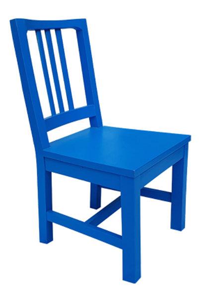 Silla Madera Azul