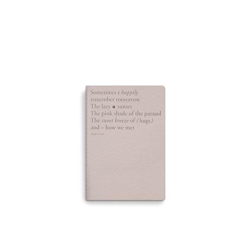 Note booklet A6 - Cloud Dancer (10pcs)