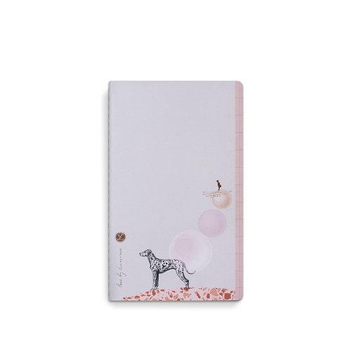 Loua Notebook 13x21 Dalmi Dog (5pcs)