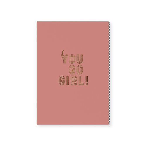 Card (10pcs) / You go girl! *)
