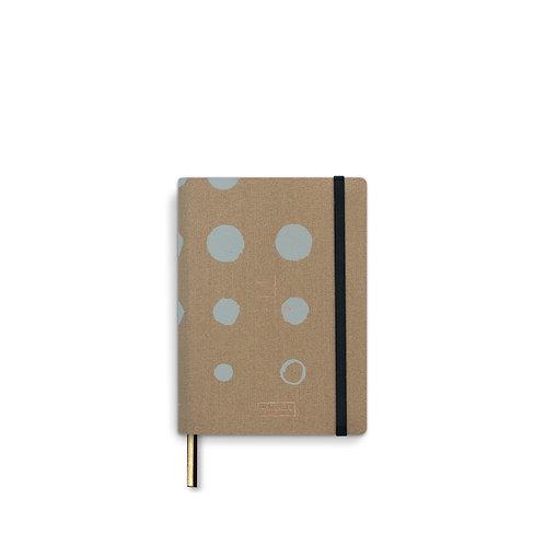 Adress Book A6 linen - Mustard (5pcs)