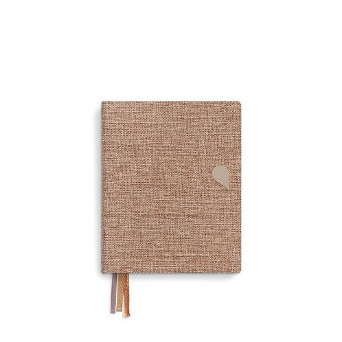 Linen notebook A6+ Fluorite (5pcs)