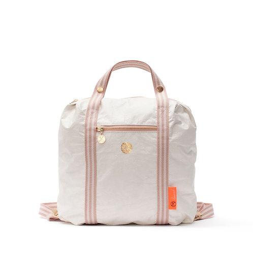 Loua Backpack - White (3pcs)