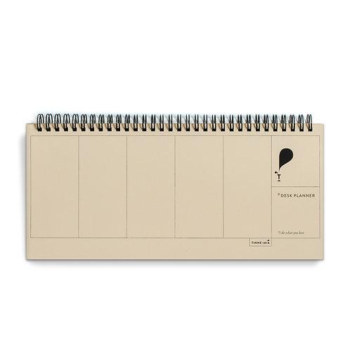 Desk Planner Jaune Doux (5pcs)