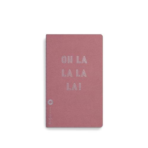 Loua Notebook 13x21 Oh La La La La La (5pcs)