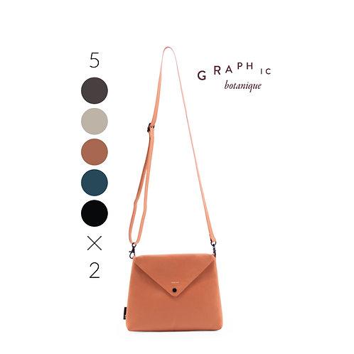 Envelope bag Graphic Botanique