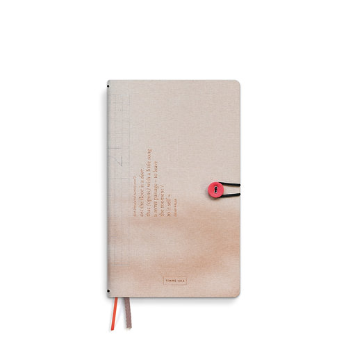 Diary 2021 linen with button - Distant Sky (5pcs)