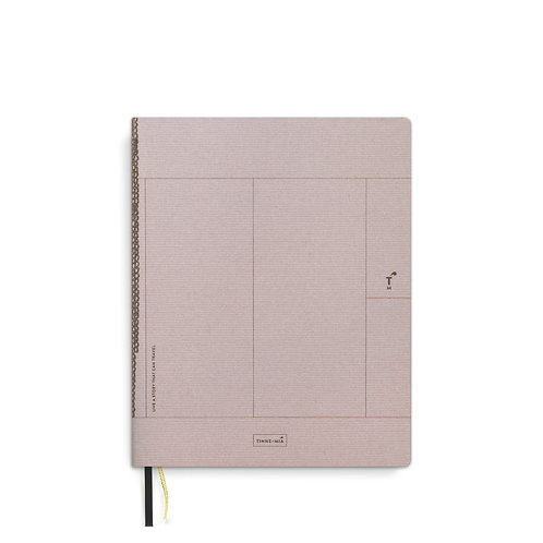 Linen notebook A5+ Rose Pale (5 pcs)