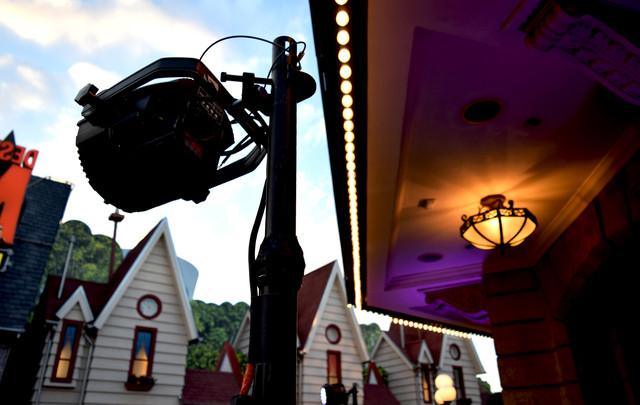 Globe Theatre at Universal Studios Backl