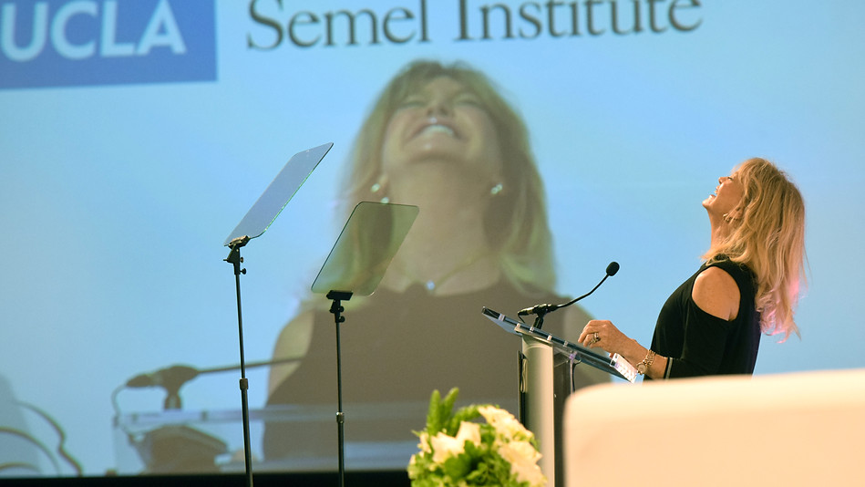 Goldie Hawn, Wonder of Women Summit, UCLA 2018