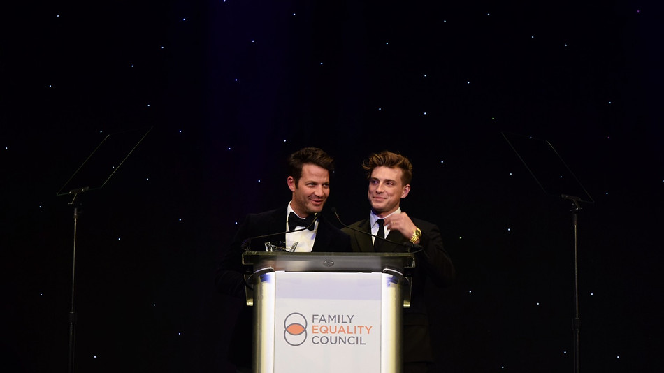 Nate Berkus & Jeremiah Brent, Family Equality Award Recipients
