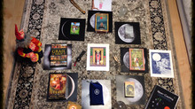 Step-by-Step Instructions for Pulling Your Own Tarot/Oracle Cards for each Lunar Journey, beginning