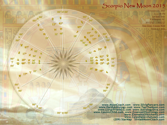 Scorpio New Moon: November 11, 2015 Astrological Guidance for You!