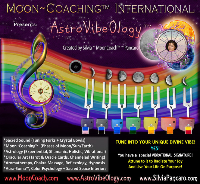 AstroVibeOlogy by MoonCoach Silvia Pancaro
