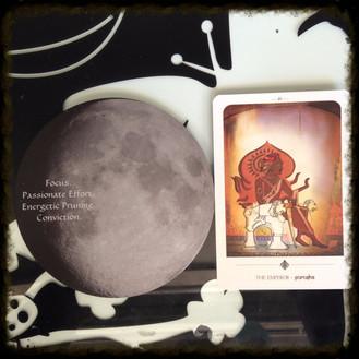 GIBBOUS Phase at 10 SAGITTARIUS on 7/15 thru 7/19 for CANCER/CAPRICORN Lunar Moonth