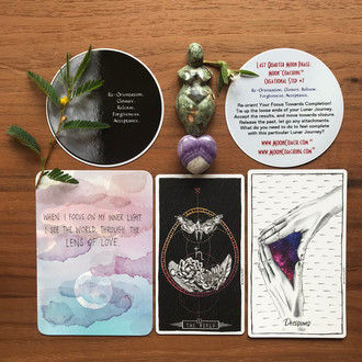 MoonCoaching™ Astro.Tarot.Ology™ Message for August 25-26 (Second part of the Last Quarter Phase, in